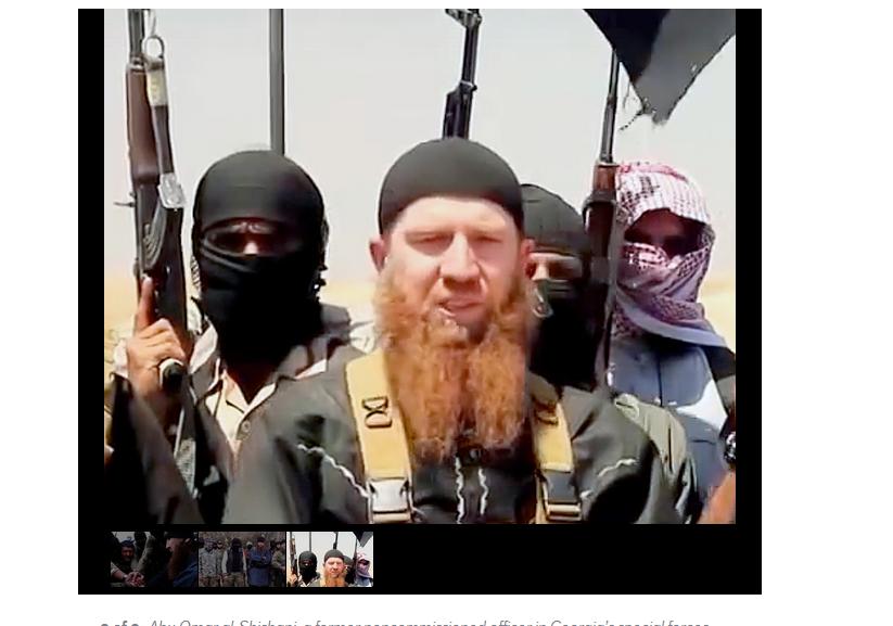 L'étrange destin du modeste soldat tchétchène devenu le chef de guerre le plus redouté de l'Etat islamique