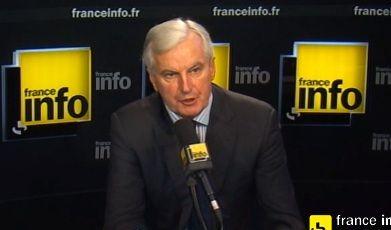 """Michel Barnier : """"La crise financière a coûté 1500 milliards d'argent public, les banques doivent payer pour les banques"""""""
