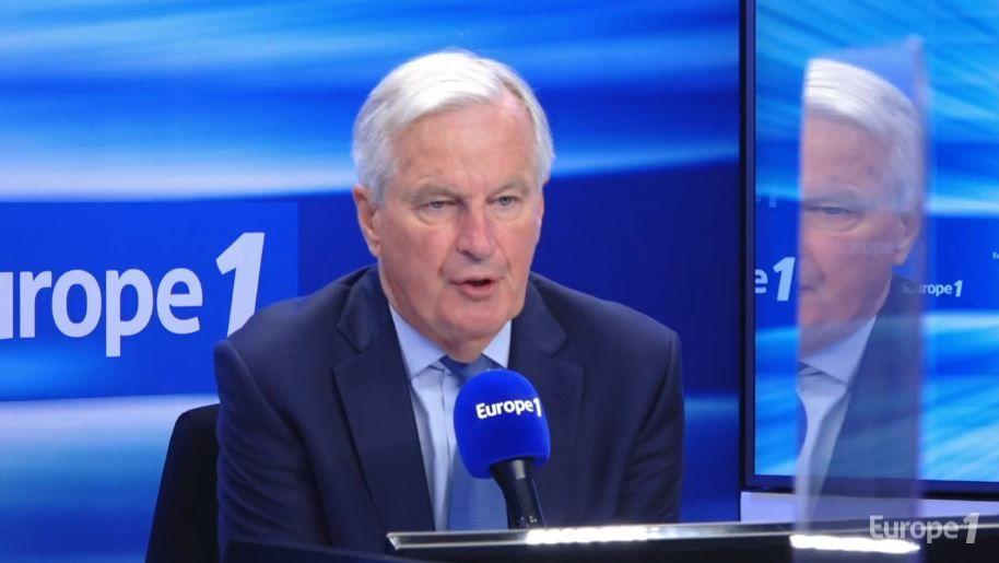 Michel Barnier était l'invité de la matinale d'Europe 1. Il a évoqué son projet de moratoire sur l'immigration.