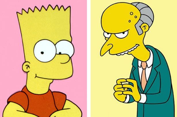 Bart Simpson et Monthy Burns, dans la vraie vie, sont entrepreneur et juge