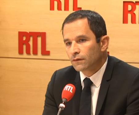 Benoît Hamon a évoqué les primaires à gauche en vue de 2017