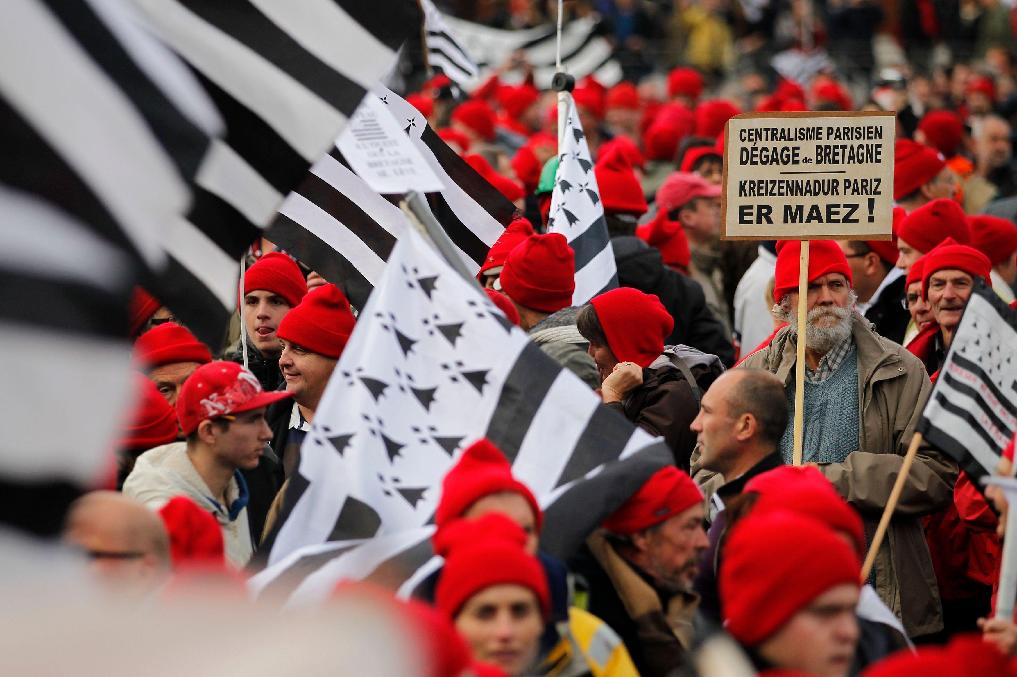 """Les """"bonnets rouges"""" prévoient de manifester le 30 novembre."""