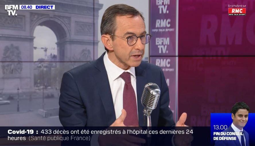 """Bruno Retailleau : """"Faire du """"en même temps"""" en temps de crise est une faute""""."""
