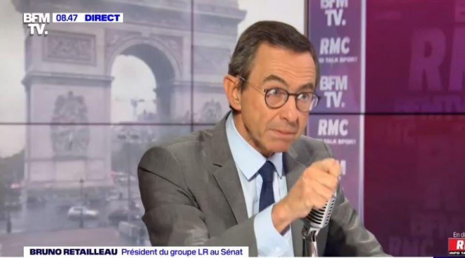 Bruno Retailleau LR Les Républicains
