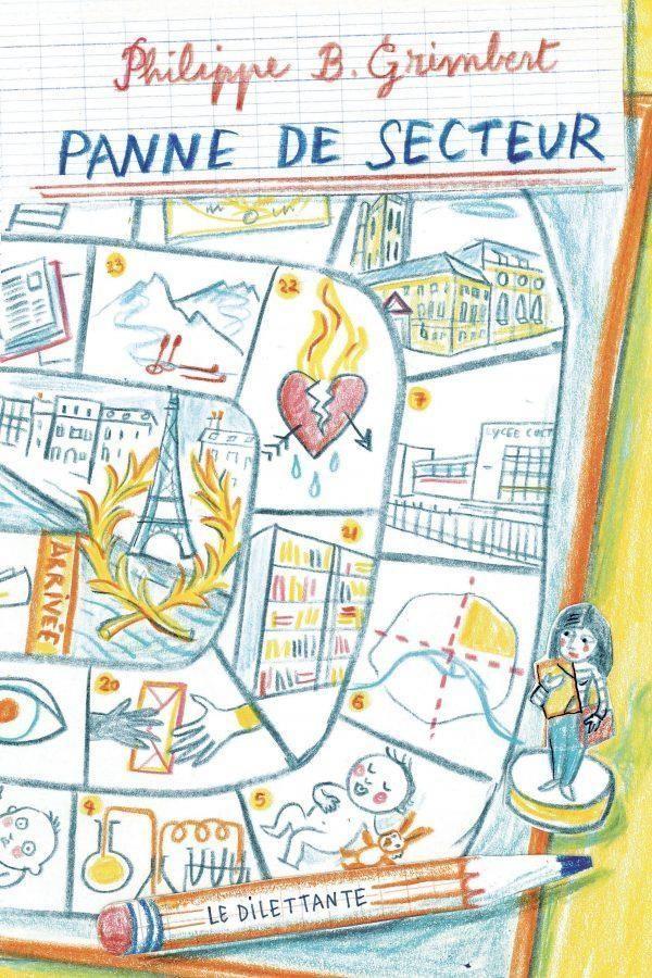 """""""Lectures d'été"""" : """"Panne de secteur"""" de Philippe B. Grimbert, une tragi-comédie finement humoristique sur les affres de la sectorisation scolaire"""