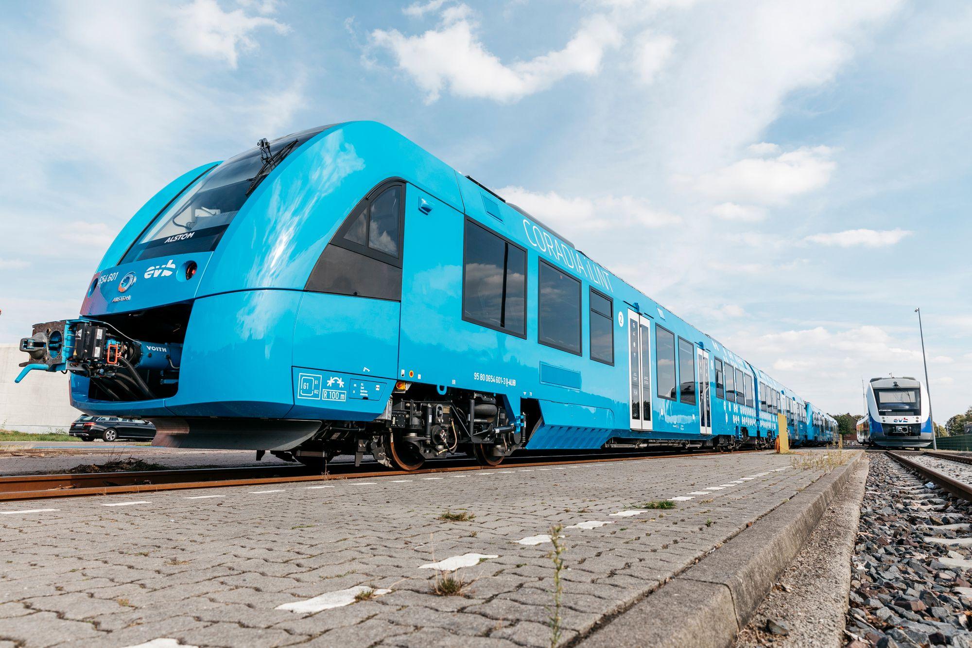 En Allemagne, le premier train à hydrogène entre en exploitation