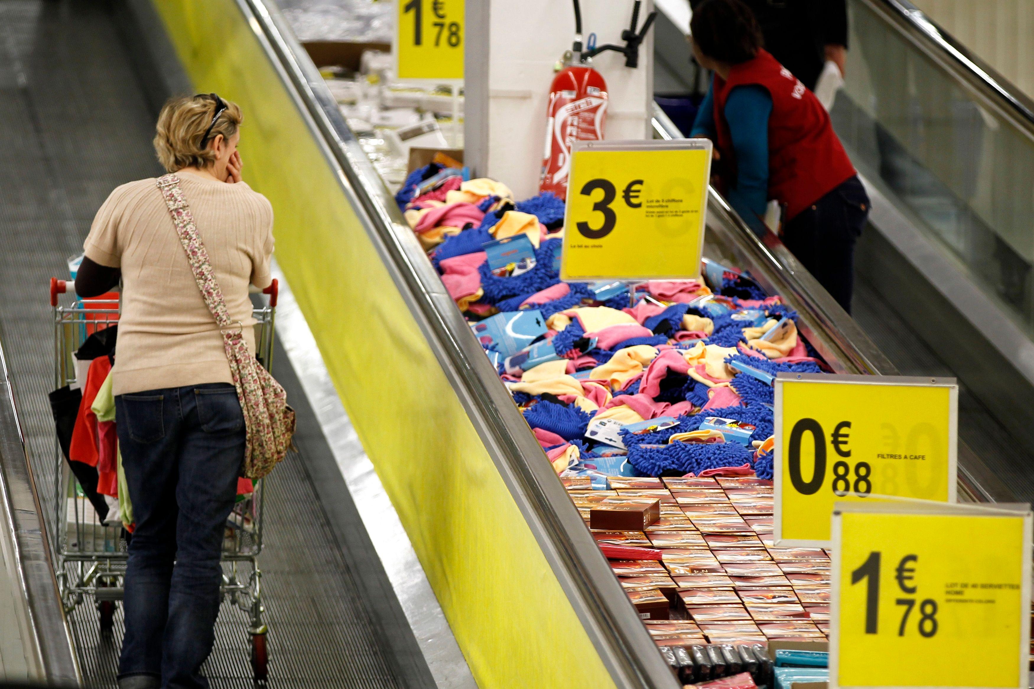 L'indice des prix à la consommation (IPC) a baissé de 0,6% en décembre 2013.