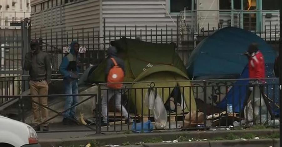 Crise des migrants : trois campements évacués dans le nord de Paris