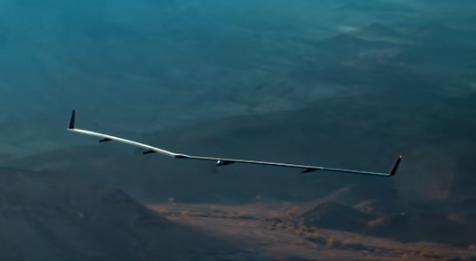 Premier vol réussi pour le drone solaire Aquila