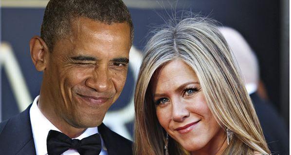 The Economist a imaginé une relation entre Barack Obama et Jennifer Aniston