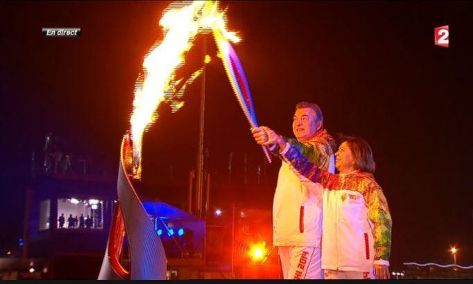 Sotchi 2014 : la flamme a été allumée, les Jeux Olympiques sont ouverts