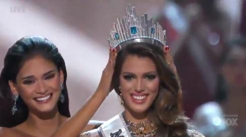Miss France 2016 couronnée Miss Univers !