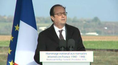 François Hollande reconnaît la responsabilité de la France dans l'internement de milliers de Tsiganes durant la guerre