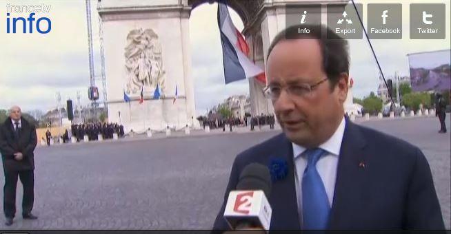 Cérémonies du Débarquement en Normandie : Hollande invite Poutine, le président russe accepte