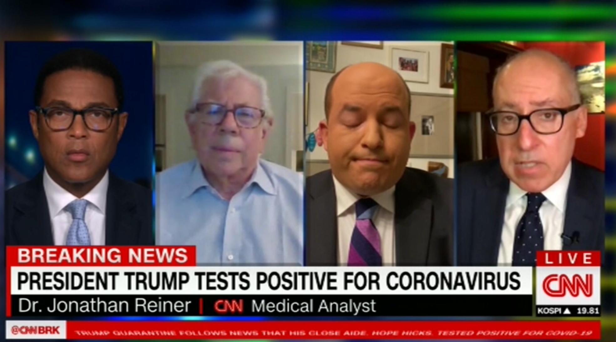 Donald Trump annonce sur Twitter que lui et son épouse sont positifs au coronavirus