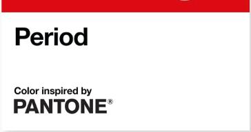 Un nouveau rouge Pantone
