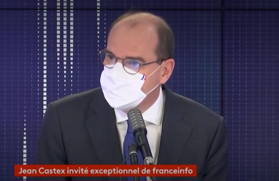 Jean Castex sur France Info