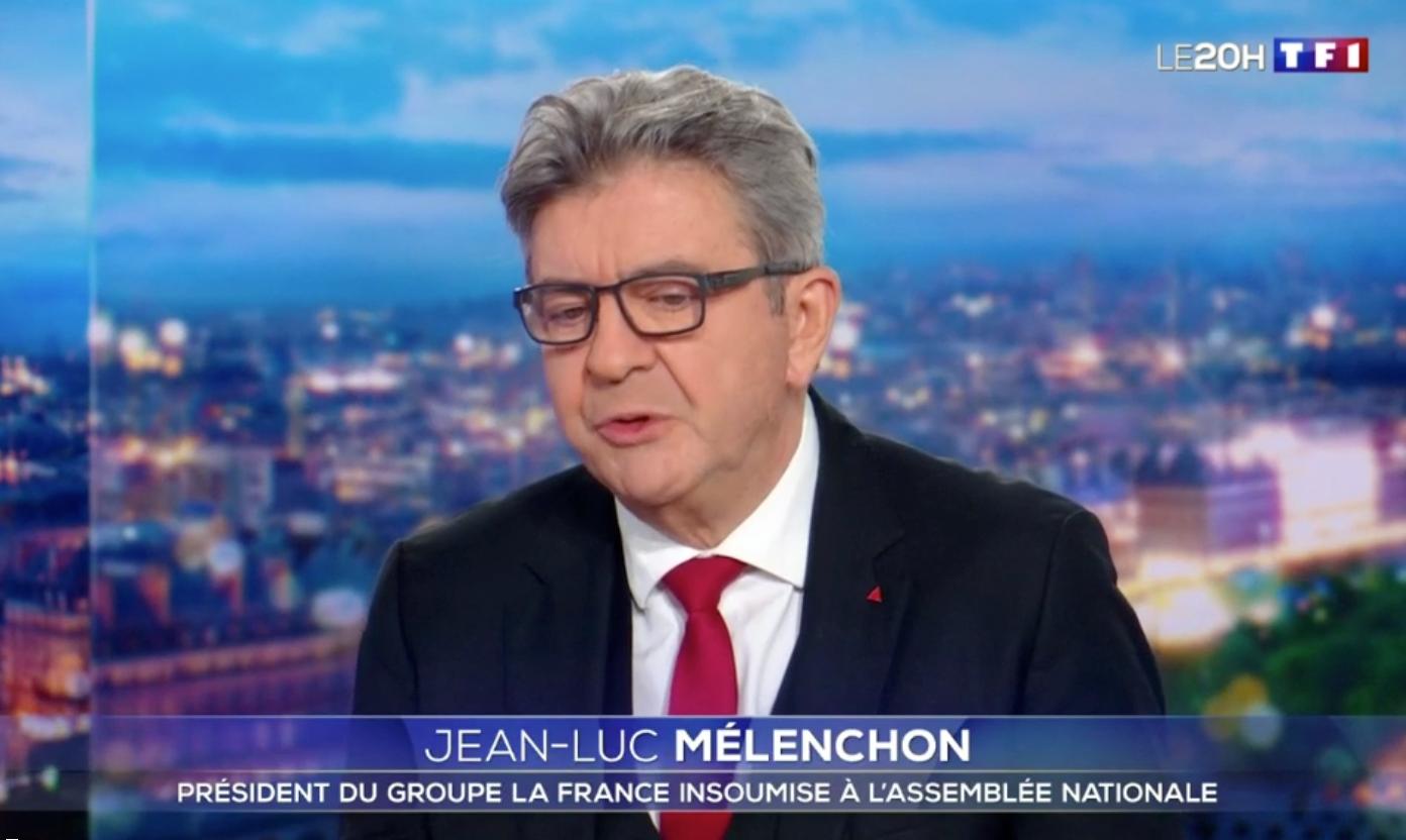 Mélenchon sur TF1