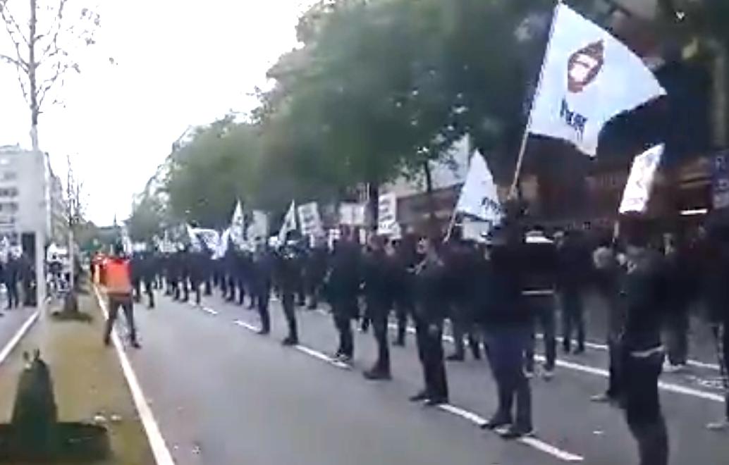 Manifestation  Musliminteraktiv  à Hambourg