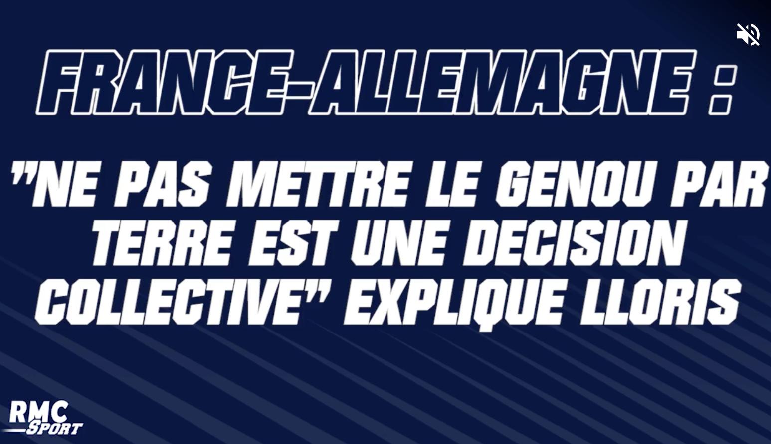 Hugo Lloris sur RMC Sport