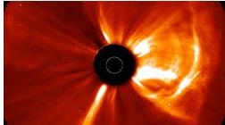 La Terre a échappé de peu à une tempête solaire