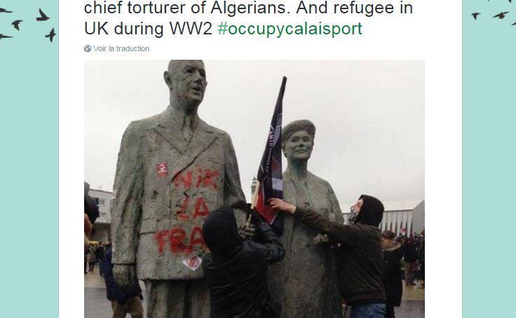 Manifestation  à Calais : 35 personnes interpellées, la droite réclame une réunion d'urgence