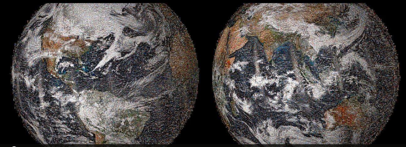 La NASA célèbre la Journée de la Terre en créant un selfie géant