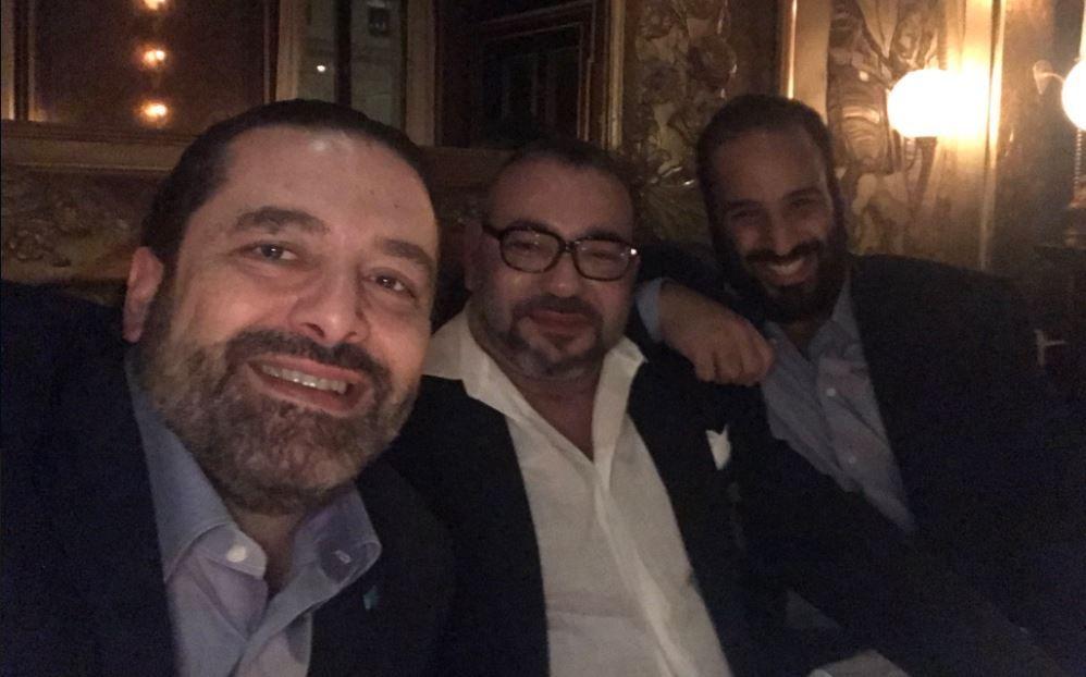Saad Hariri, Mohammed VI et Mohammed ben Salmane : le selfie aux trois dirigeants met le web en émoi