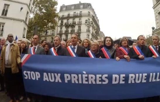 Prières de rue à Clichy : des responsables musulmans vont porter plainte contre X
