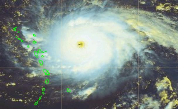 Un cyclone a terrassé l'intelligence et personne n'en parle