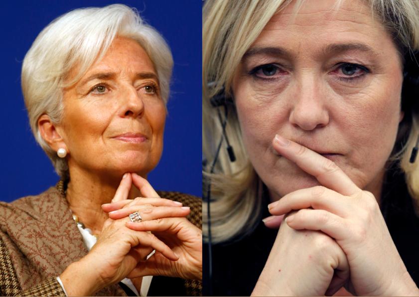 Christine Lagarde et Marine Le Pen sont les personnalités politiques féminines préférées des Français.