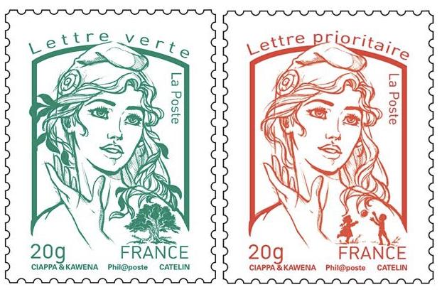 Le timbre de la discorde ne représenterait pas une Femen