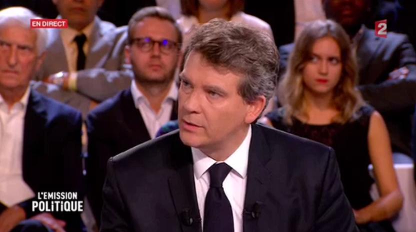"""Arnaud Montebourg : """"Nous irons casser de la vaisselle à Bruxelles!"""""""