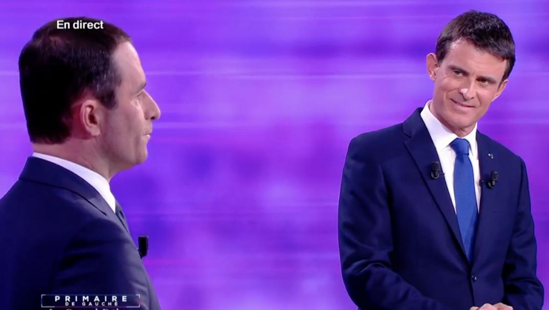 """Selon Manuel Valls, Benoît Hamon s'engage dans une """"dérive"""" et """"une forme de sectarisme"""""""