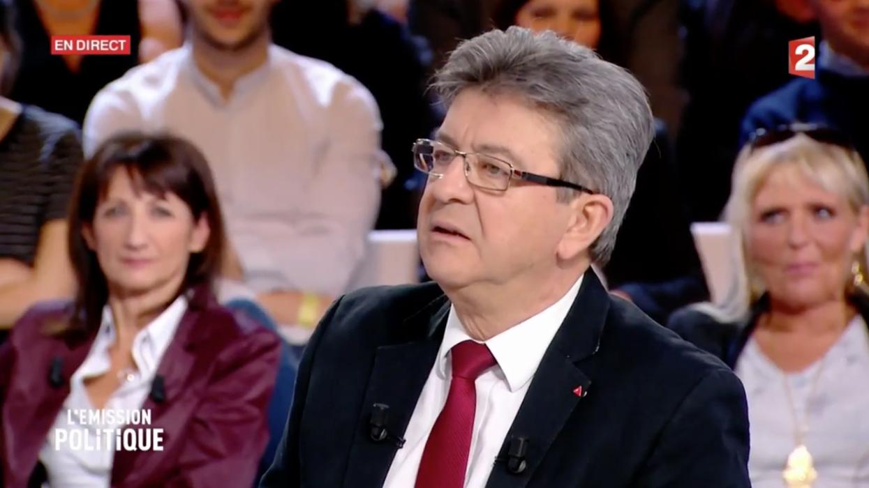 """Jean-Luc Mélenchon """"ne ferme pas la porte"""" à une alliance avec Benoît Hamon"""