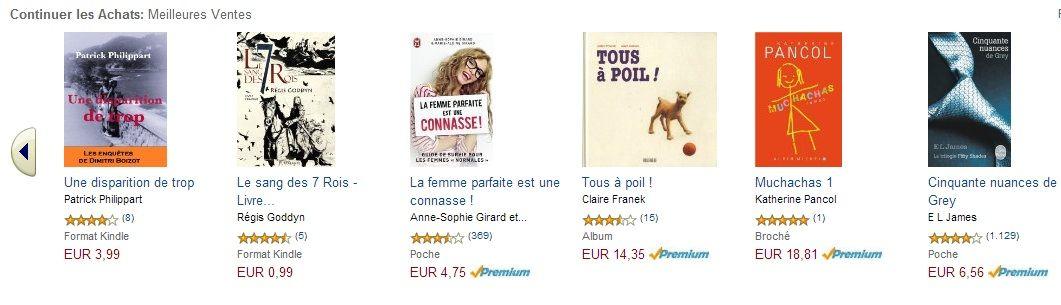 """En deux jours, """"Tous à poil"""" a gagné 3355 places et s'est logé en 4ème place des meilleures ventes sur Amazon."""