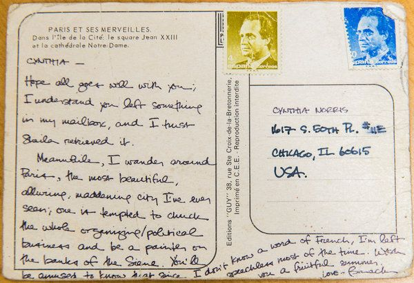 La carte postale de Barack Obama