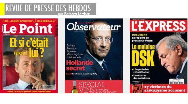 DSK en caleçon, Sarko en espèces, Hollande et Ségo à oilpé