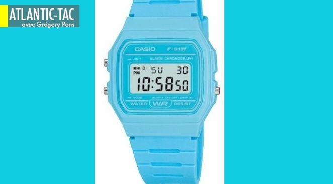 La Casio F91W était la montre préférée des terroristes islamiques...