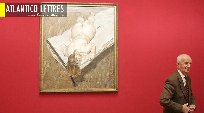 """""""Nightportrait - Face Down"""" de Lucian Freud."""