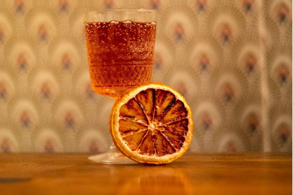 Cassis colosseum alcool cocktail été boisson