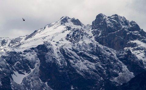 Les montagnes du Caucase.