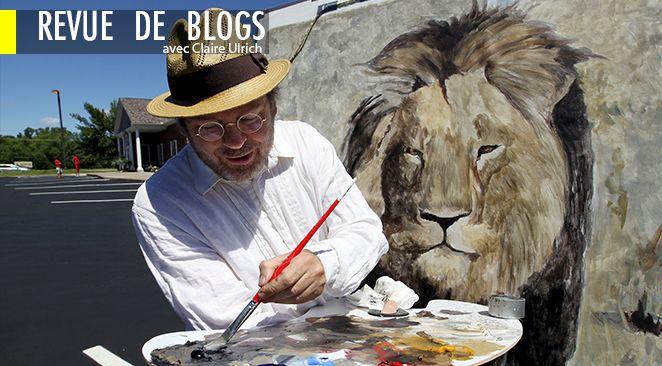 Le lion Cécil avait une crinière noire.