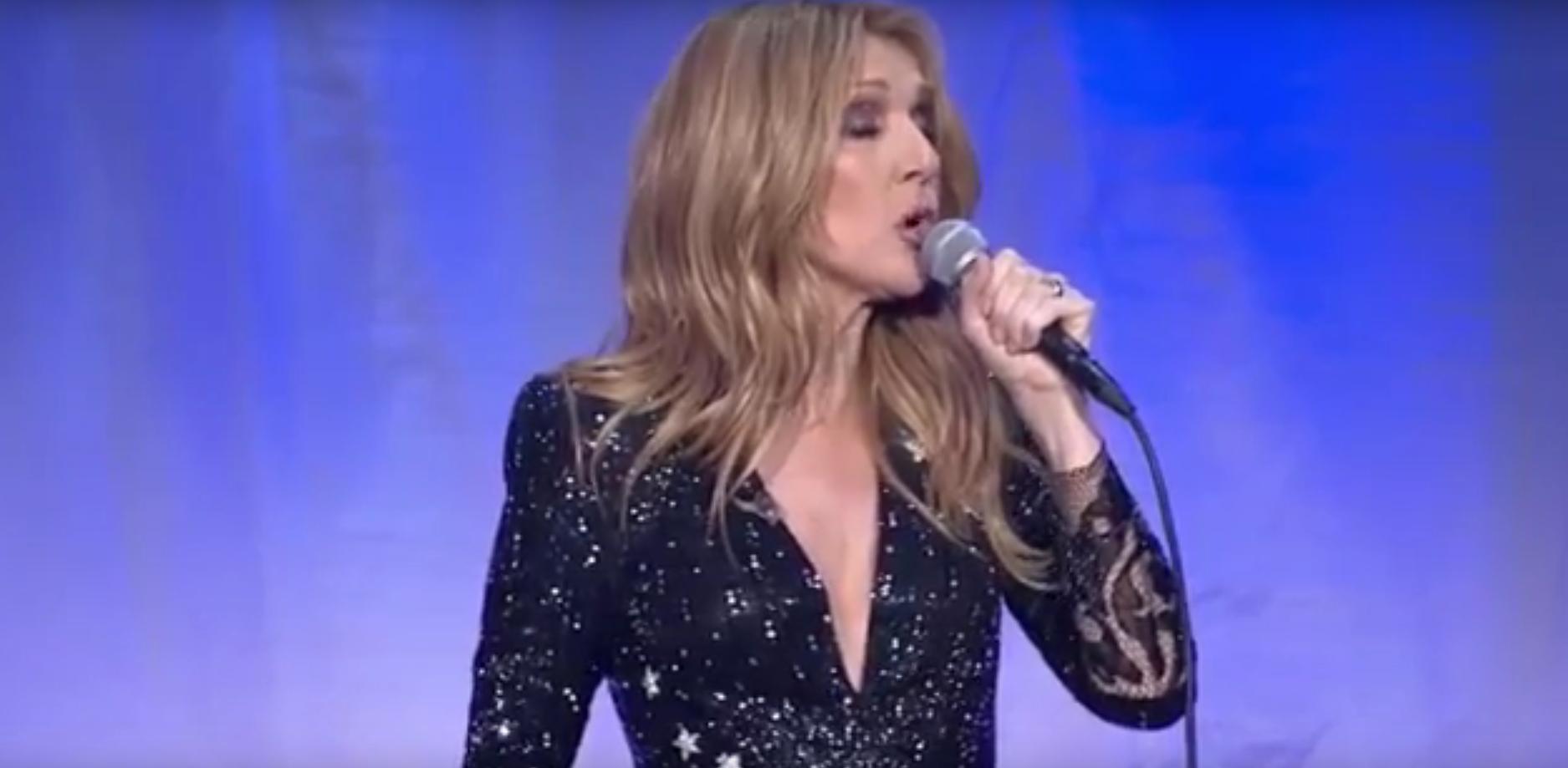 """Atteinte d'un trouble auditif, """"chanter devient impossible"""" pour Céline Dion"""
