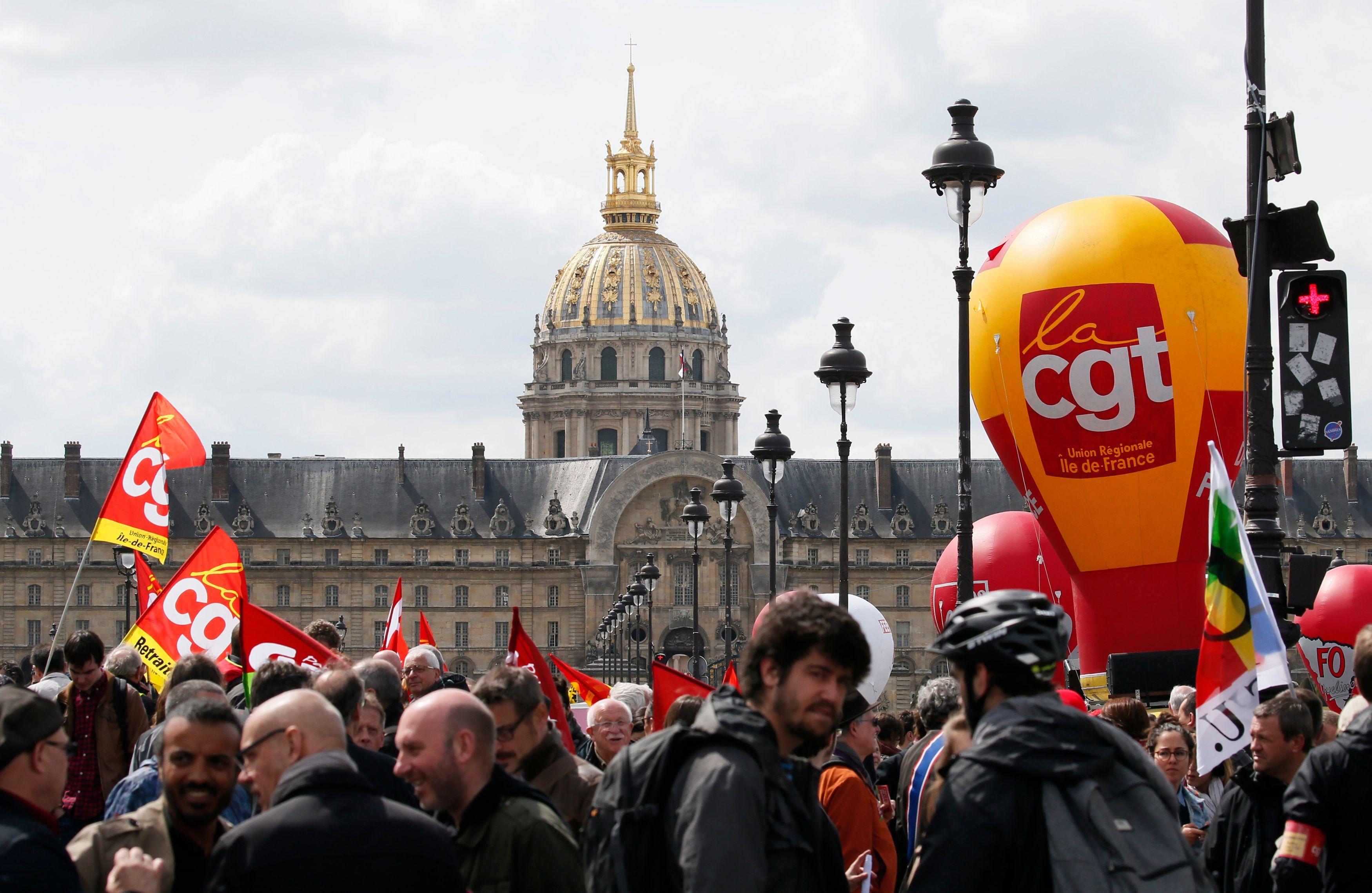 Loi Travail : une partie des syndicats dans la rue ce mardi