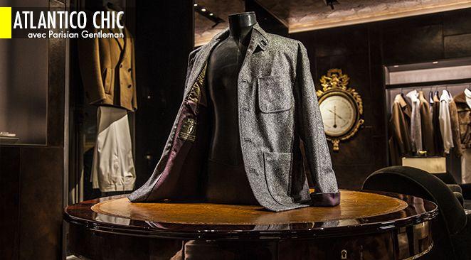 Berluti réédite la version historique de la célèbre veste dessinée par Léon Grimbert (Arnys).