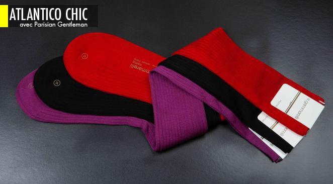 Le marché de la chaussette masculine de luxe connaît un développement sans précédent.