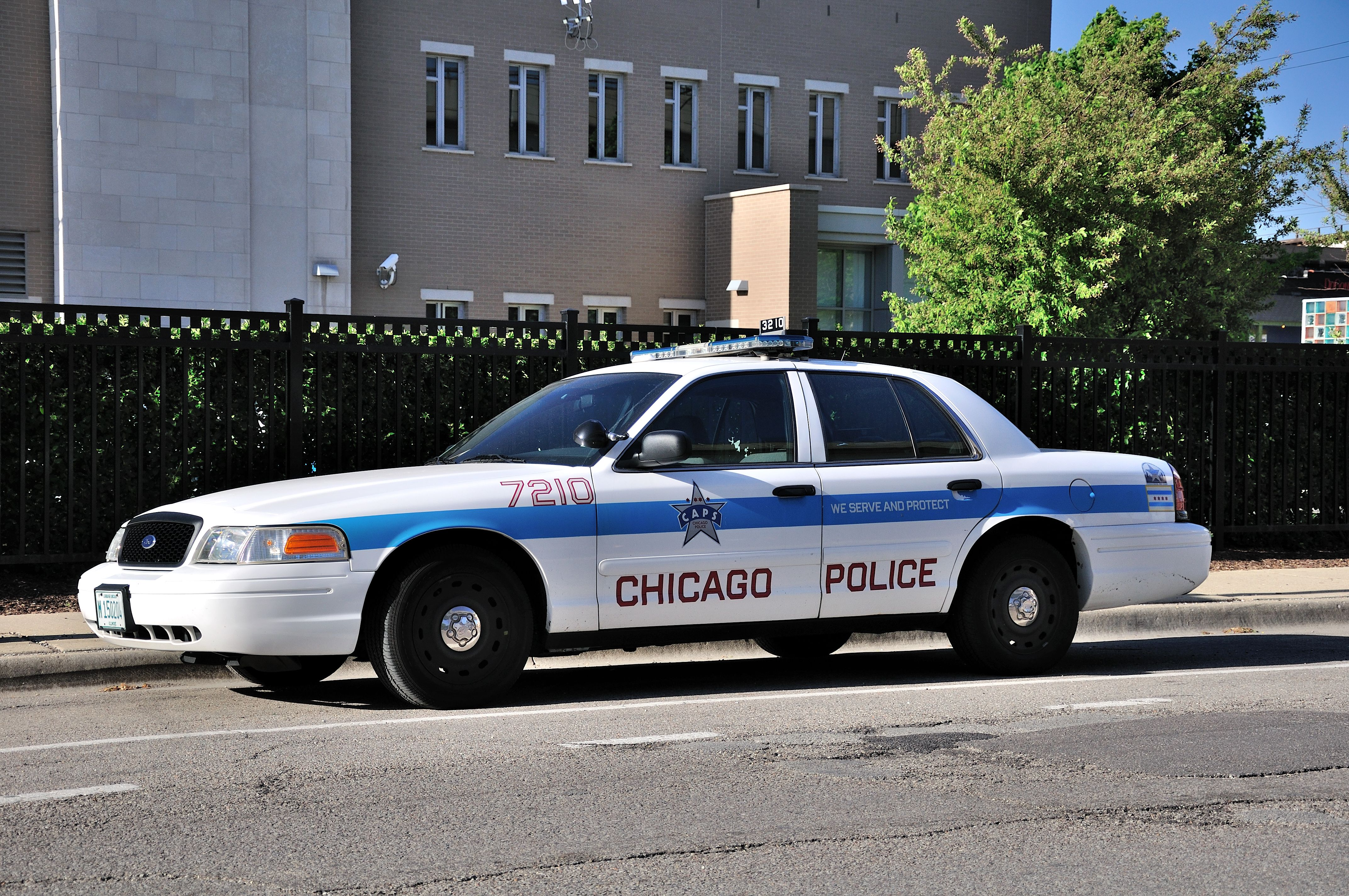 Voiture de police aux USA