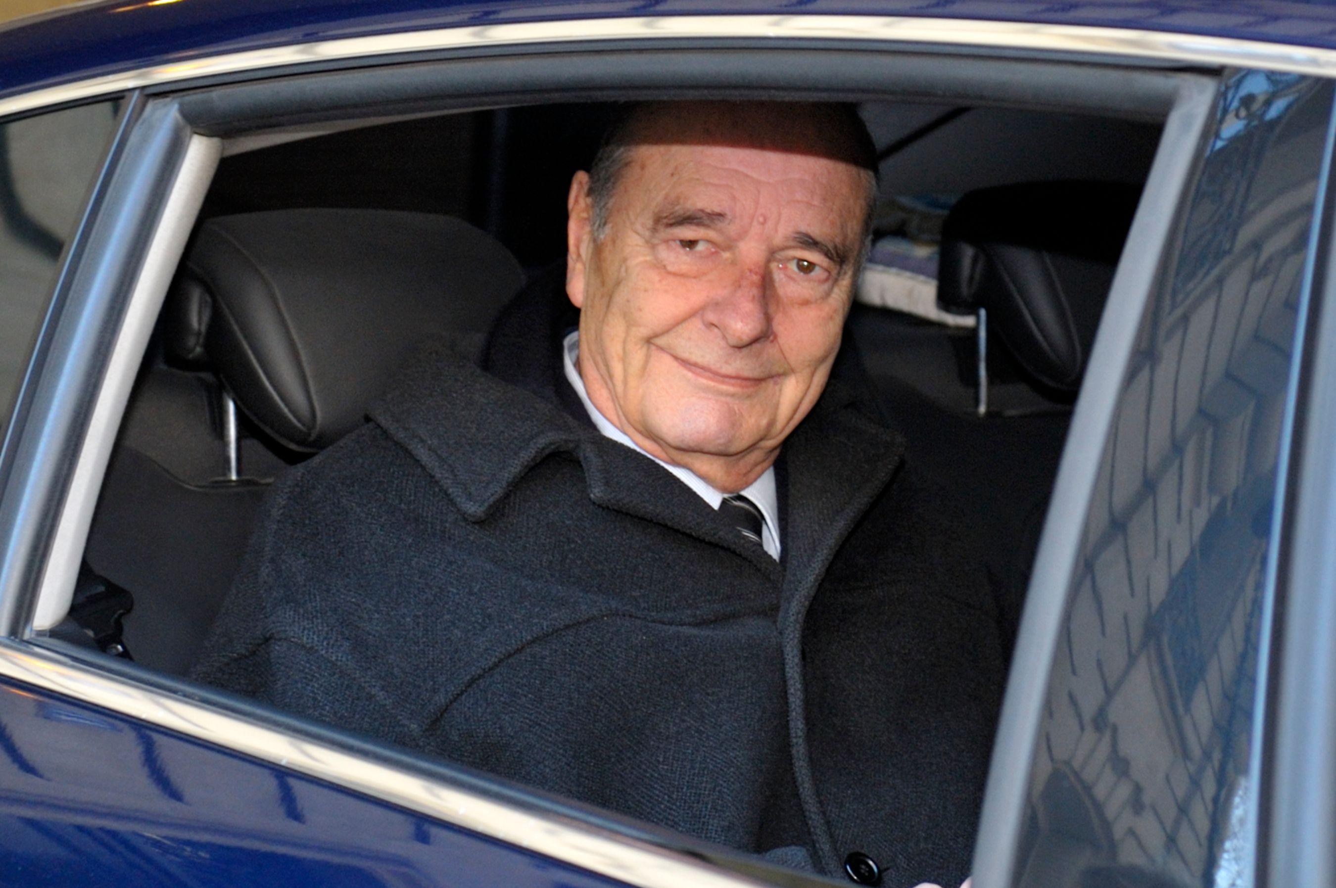 Jacques Chirac a été condamné à deux ans de prison avec sursis.