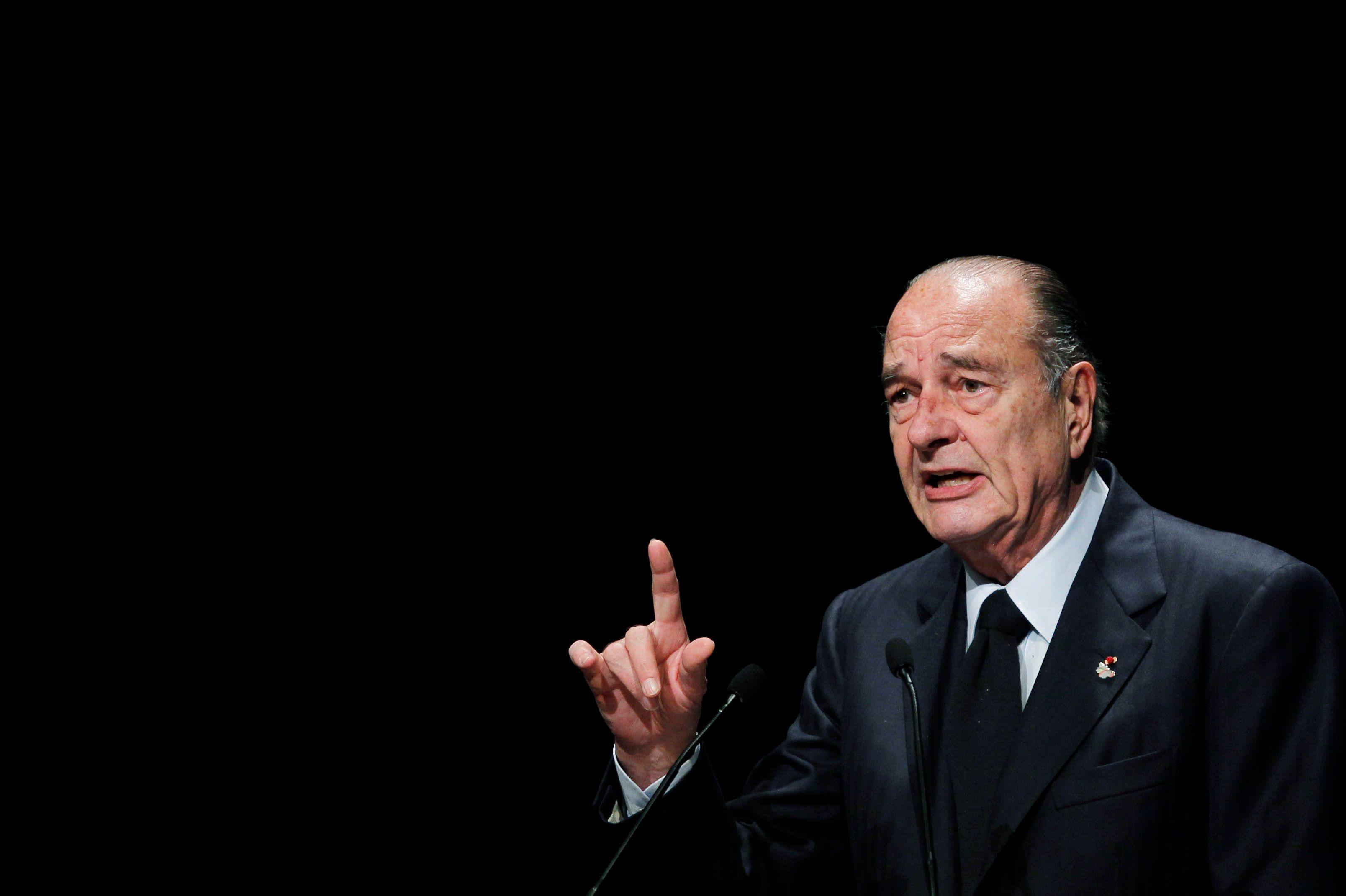 Jacques Chirac a été brièvement hospitalisé ce lundi soir